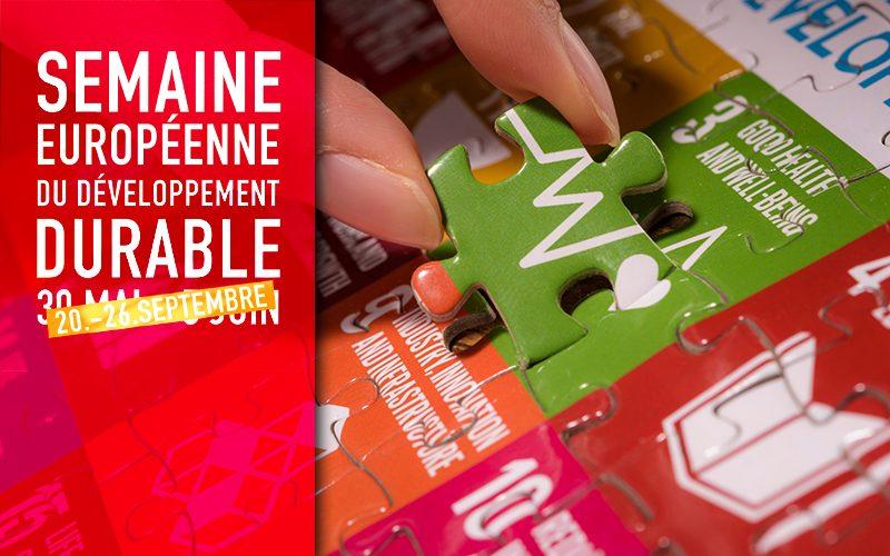 Semaine Européenne du Développement durable : l'UWE participe !