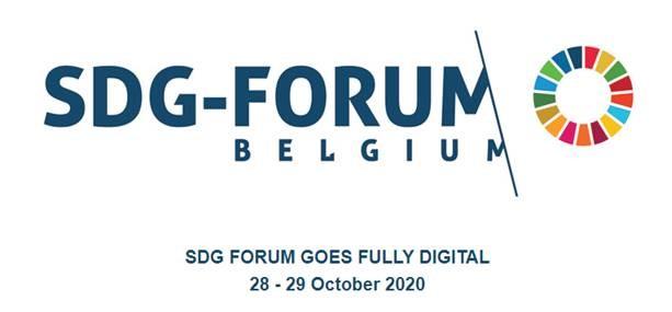 SDG-Forum Belgium 28 & 29/10 | « From Everyone – For Everyone – By Everyone »